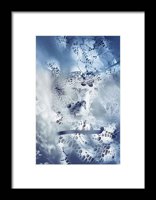 Masquerade Framed Print featuring the photograph Mysterious Carnival Mask by Jorgo Photography - Wall Art Gallery