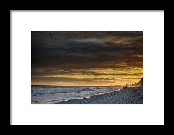 Atlantic Framed Print featuring the photograph Mysterious Myrtle Beach by Kelly Reber