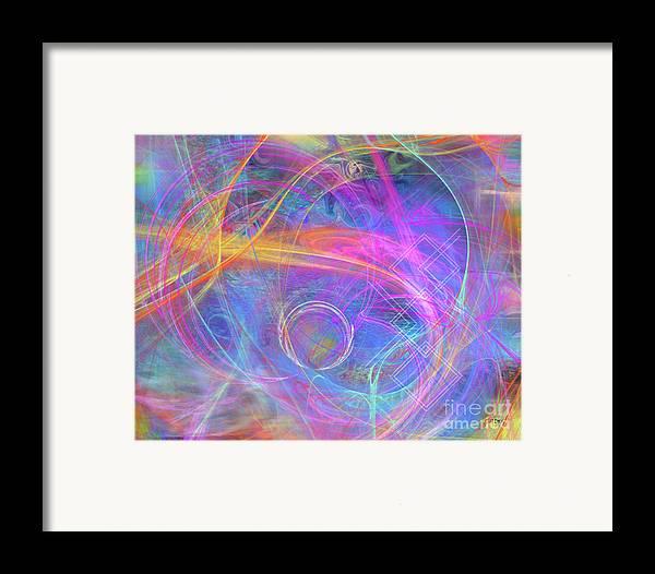 Mystic Beginning Framed Print featuring the digital art Mystic Beginning by John Beck