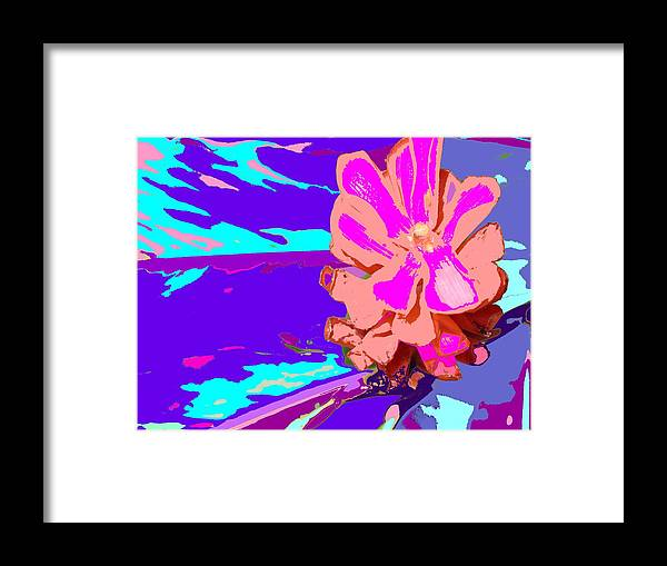 Flower Framed Print featuring the photograph Mystical Flower by Ian MacDonald