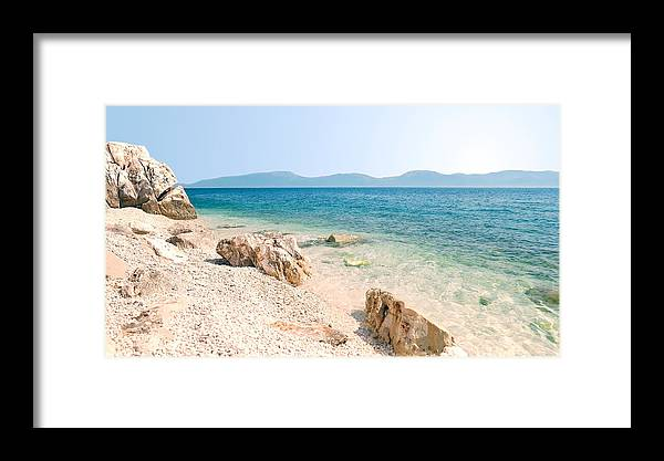 Framed Print featuring the photograph N007 New Sky by Relaxdaily