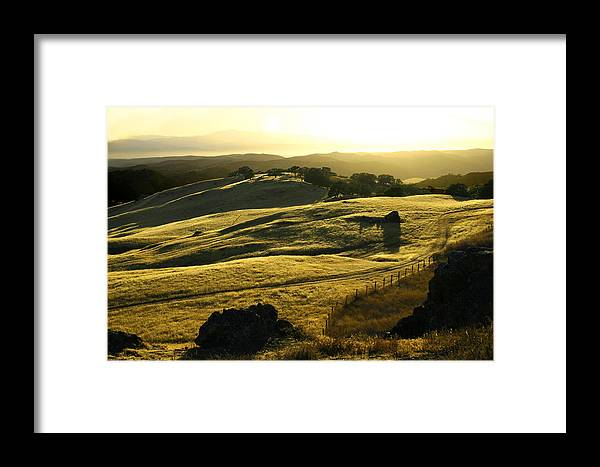 Nappa Valley Framed Print featuring the photograph Napa Valley by Hans Jankowski