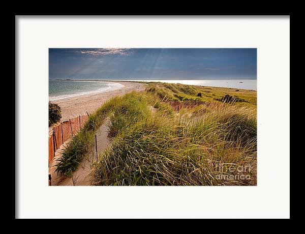 Bay Framed Print featuring the photograph Napatree Point Preserve by Susan Cole Kelly