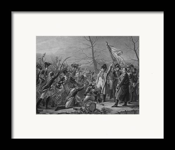 Napoleon Framed Print featuring the mixed media Napoleon Returns From Elba by War Is Hell Store