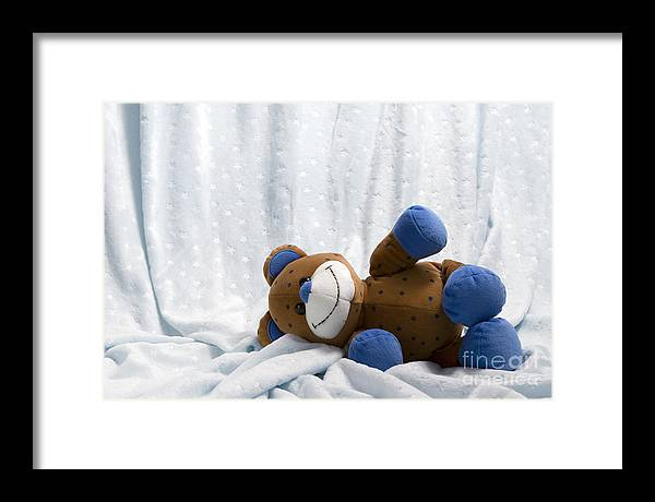 Baby Framed Print featuring the photograph Naptime 1 by Jeannie Burleson
