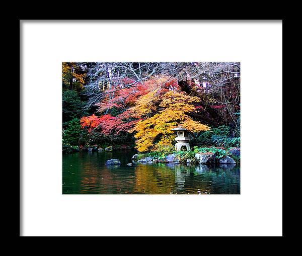 Garden Framed Print featuring the photograph Naritasan Temple Garden by Patti Bean