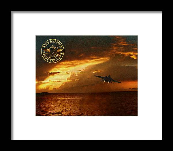 Nas Framed Print featuring the photograph Nas Key West Sunset by David Starnes