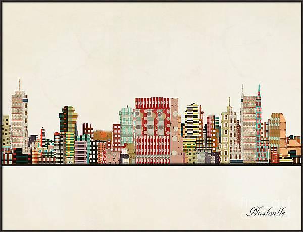 Nashville Skyline by Bri Buckley