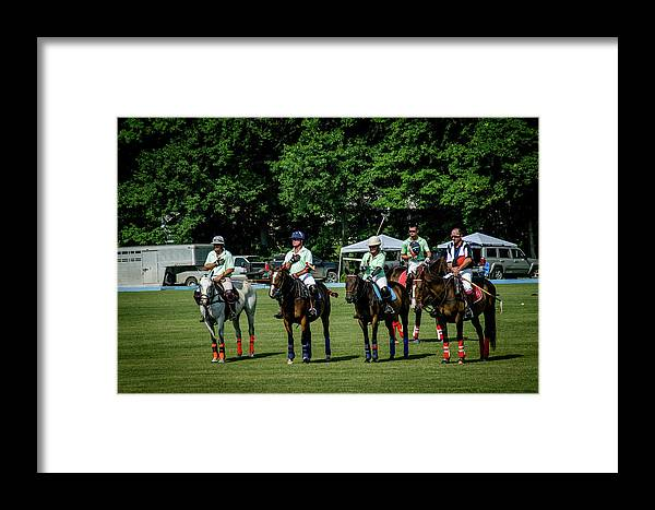 Banbury Cross Framed Print featuring the photograph National Anthem by Sarah M Taylor