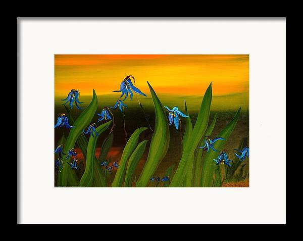 Nature Painting Framed Print featuring the painting Natural Diversity II by Gregory Allen Page
