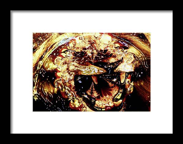 Lion Framed Print featuring the photograph Natural Power by Johnny Aguirre