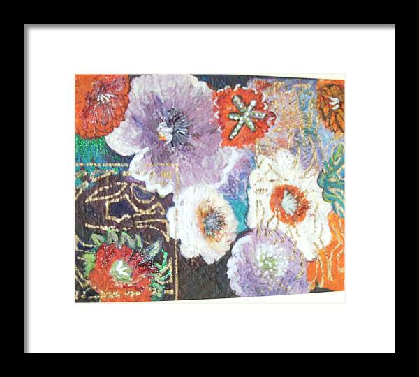 Framed Print featuring the mixed media Naturally Rich by Anne-Elizabeth Whiteway