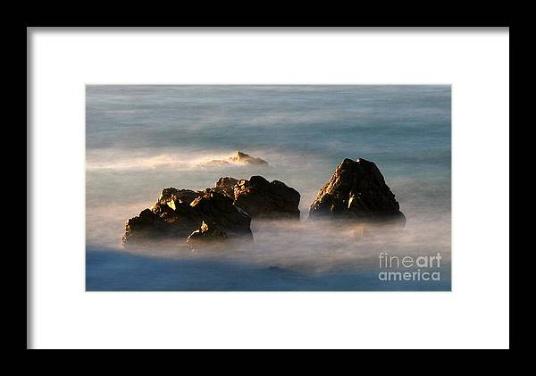 Rock Framed Print featuring the photograph Nature by Catherine Lau