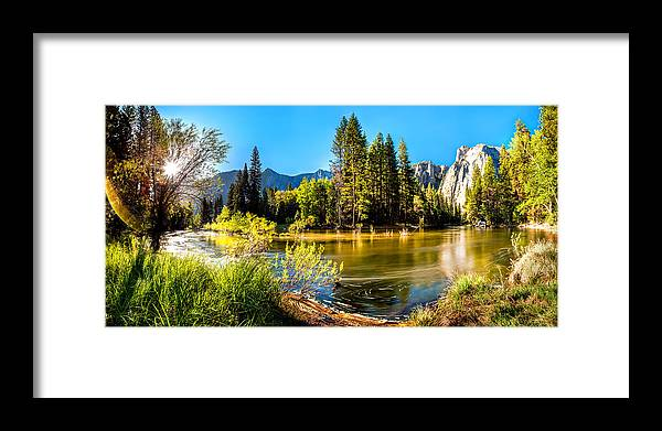 Yosemite National Park Framed Print featuring the photograph Nature's Awakening by Az Jackson