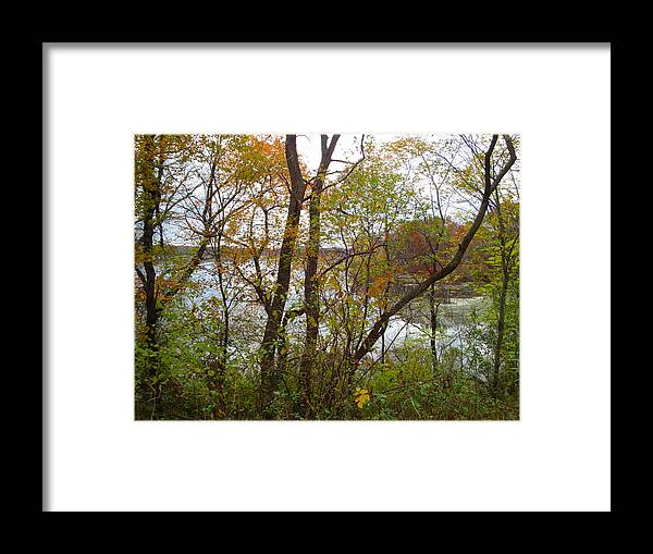 Autumn Landscape Framed Print featuring the photograph Nature's Expression-11 by Leonard Holland