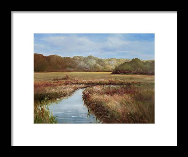 Morning Glow #952 Framed Print featuring the painting Nature's Promise by Glenda Cason