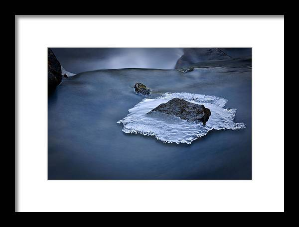 Ice Framed Print featuring the photograph Nature's Sculpture by Jim Dohms