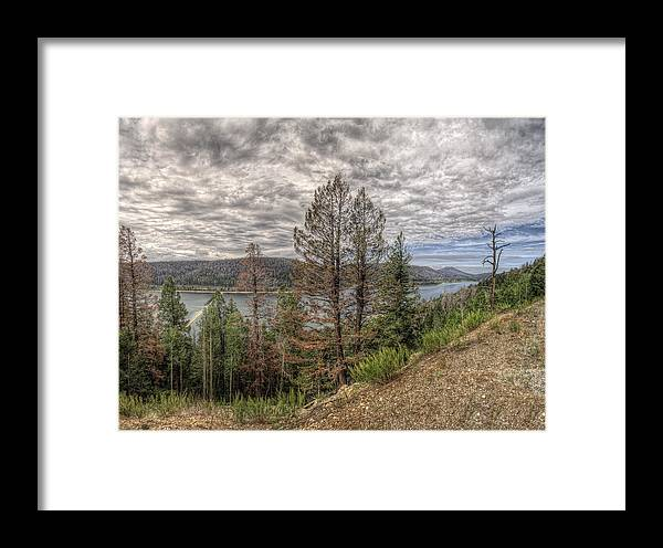 Landscape Framed Print featuring the photograph Navajo Vista by Stephen Campbell