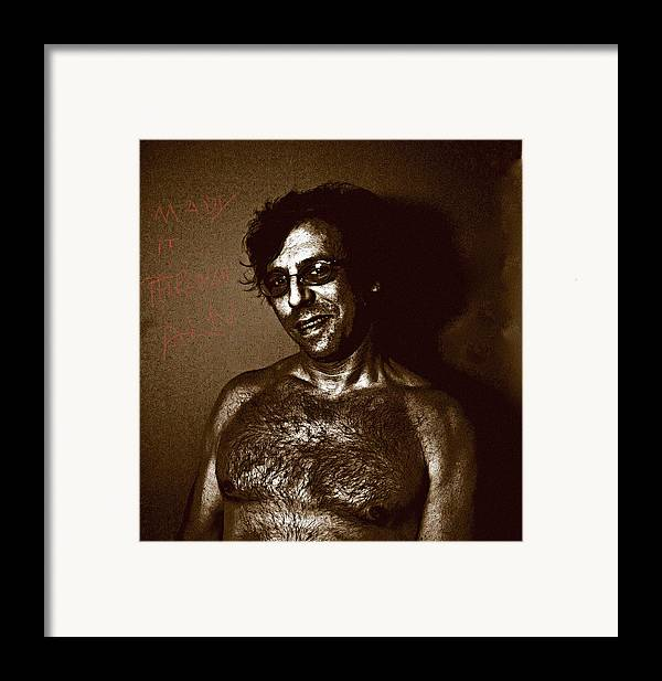 Strange Framed Print featuring the photograph Near The End by John Toxey
