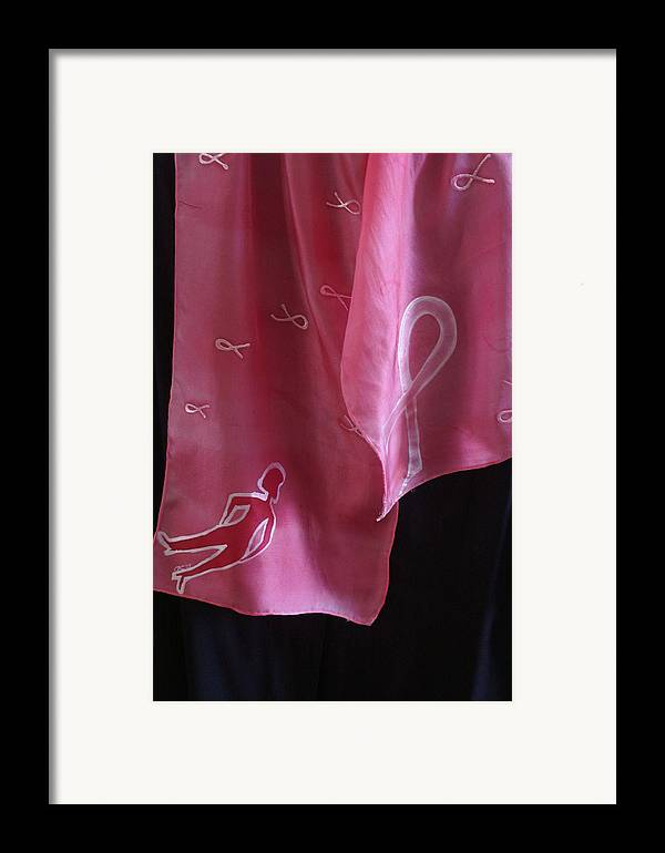 Breast Cancer Framed Print featuring the painting Neel by Christine Davis
