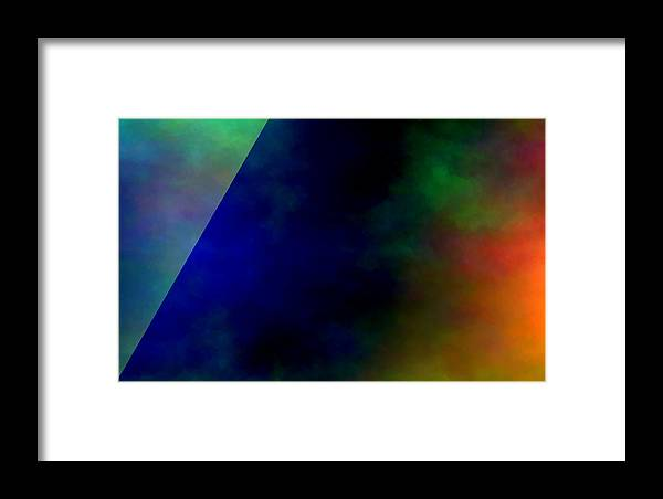 Art Framed Print featuring the digital art Nemesis Cleave by Jeff Iverson