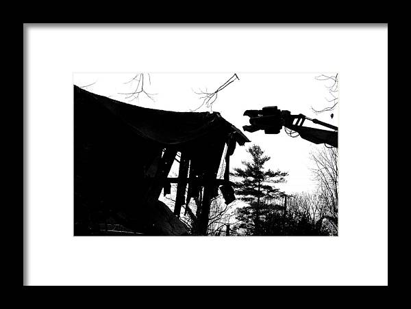 Machine Framed Print featuring the photograph Nessie by Jean Macaluso