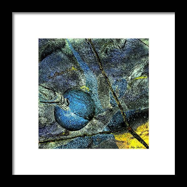 Photopainting Framed Print featuring the digital art Network 2 by Helga Schmitt