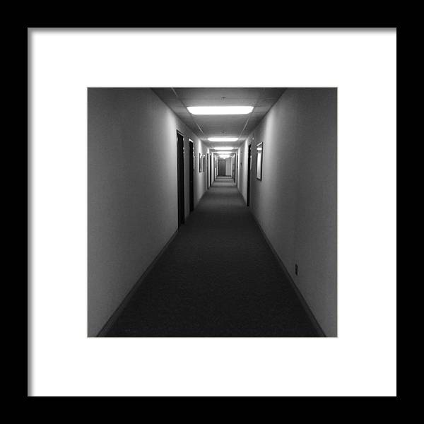 Rooms Framed Print featuring the photograph Never Ending by Aria Saint Jean