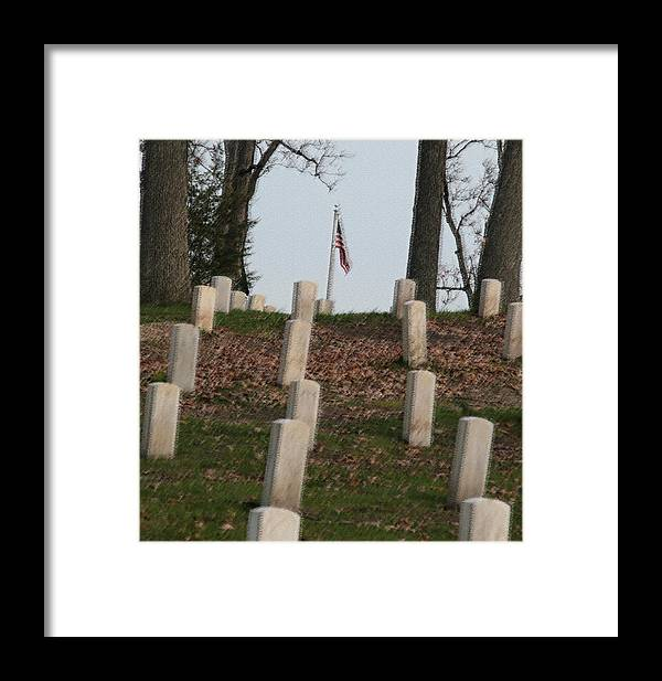 America Framed Print featuring the photograph Never Forget The Cost by Robert Pearson