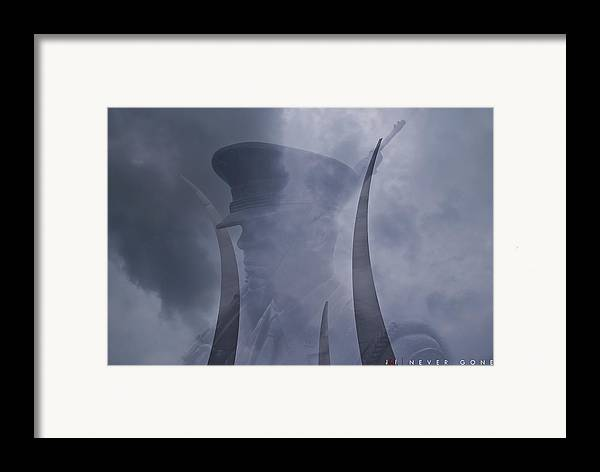Air Force Framed Print featuring the photograph Never Gone by Jonathan Ellis Keys
