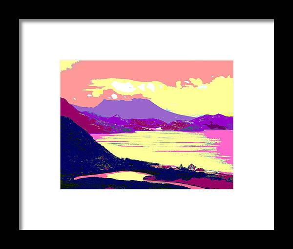 Nevis Framed Print featuring the photograph Nevis From The Penninsula by Ian MacDonald