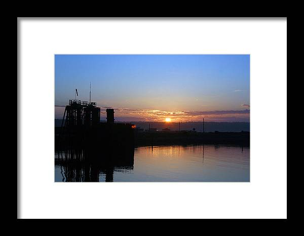 Sunrise Framed Print featuring the photograph New Beginnings - Keystone Sunrise Sr 1003 by Mary Gaines