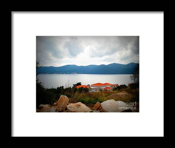 Viganj Framed Print featuring the photograph New Beginnings by De La Rosa Concert Photography