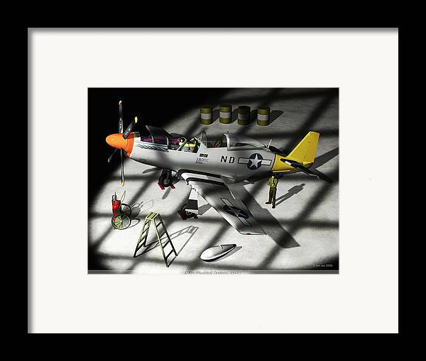 Jim Coe Framed Print featuring the digital art New Bird Arrives by Jim Coe