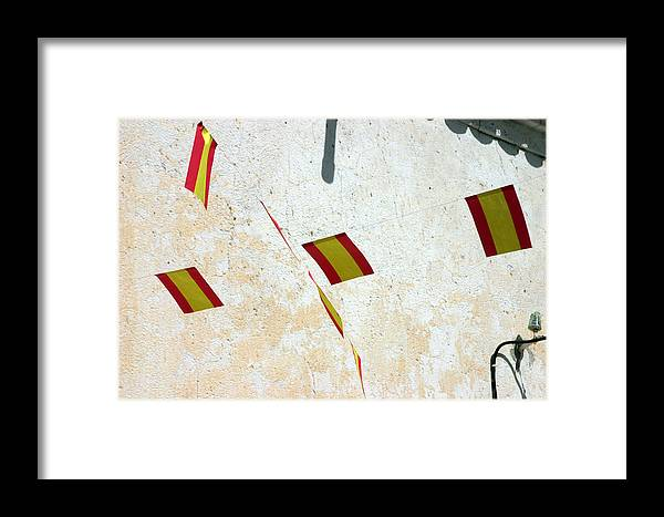 Photographer Framed Print featuring the photograph New Flags by Jez C Self