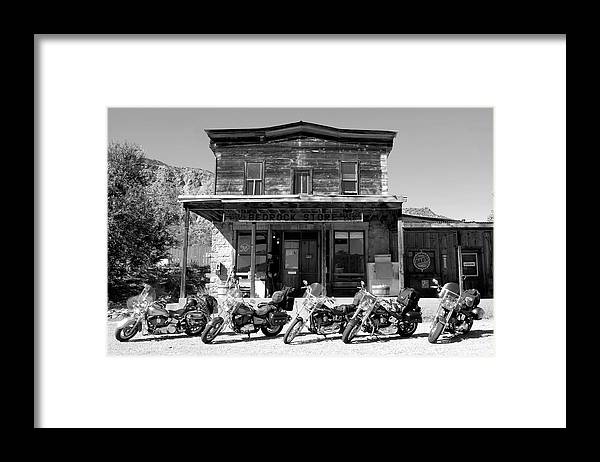 Fine Art Photography Framed Print featuring the photograph New Horses At Bedrock by David Lee Thompson
