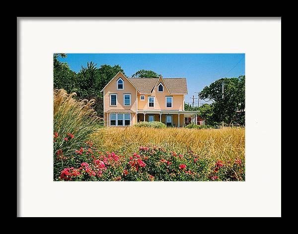 Landscape Framed Print featuring the photograph New Jersey Landscape by Steve Karol