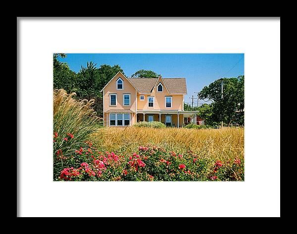 Landscape Framed Print featuring the photograph New Jersey Landscape by Steve Karol