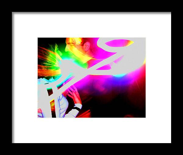 Abstract Framed Print featuring the photograph New Love by Elizabeth Hoskinson