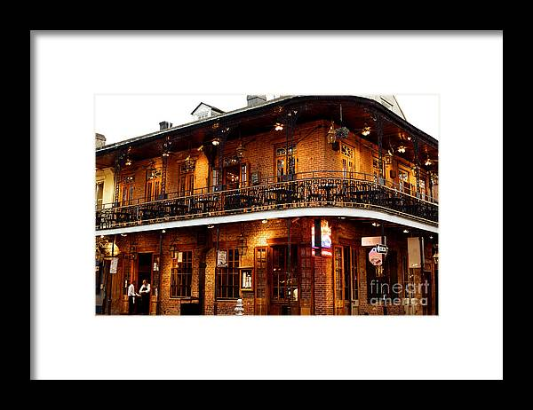 New Orleans Framed Print featuring the photograph New Orleans and all that Jazz by Kim Fearheiley