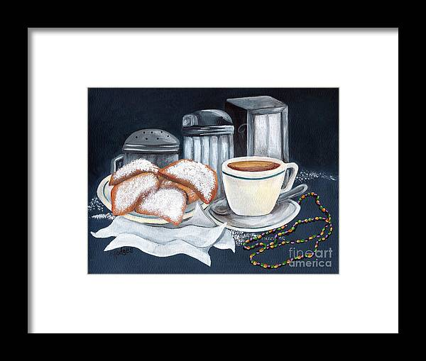 New Orleans Framed Print featuring the painting New Orleans Favorites by Elaine Hodges