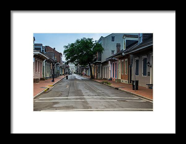 Louisiana Framed Print featuring the photograph New Orleans French Quarter Special Morning by JG Thompson
