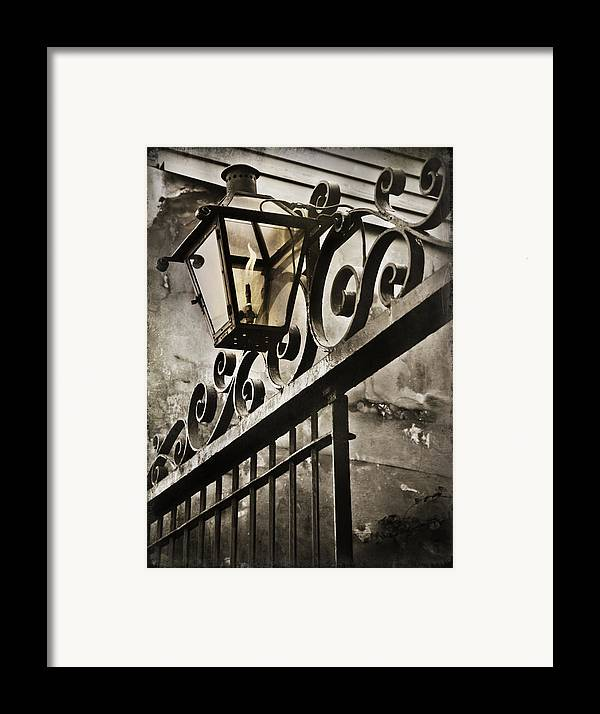 Louisiana Framed Print featuring the photograph New Orleans Gaslight by Beth Riser
