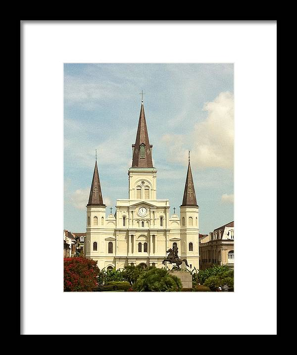 New Orleans Framed Print featuring the photograph New Orleans by Jacqueline Muller
