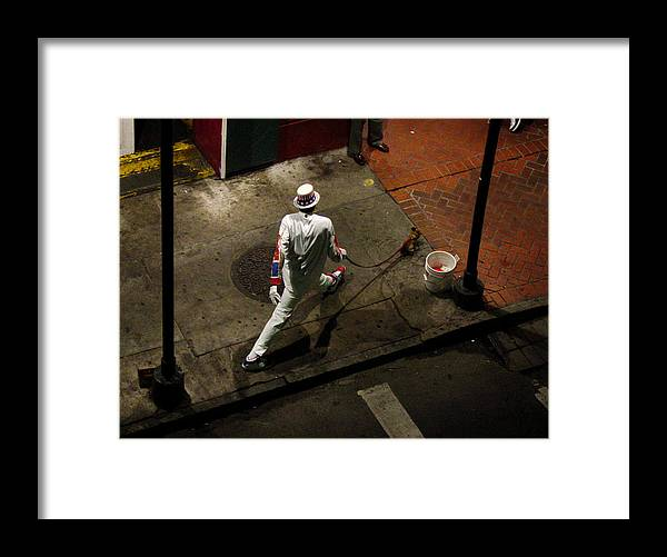 New Orleans Framed Print featuring the photograph New Orleans Shuffle by Linda Kish