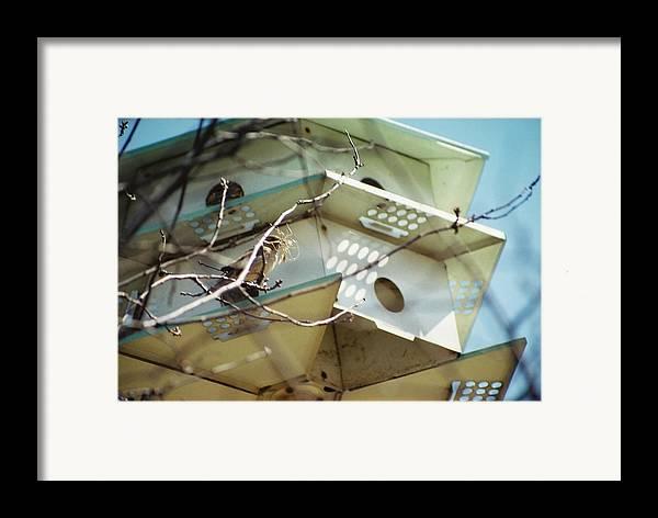 Bird House Framed Print featuring the photograph New Season by Jennifer Trone