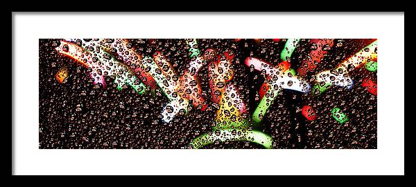 Seattle Framed Print featuring the photograph New Year Droplets Ph002 by Yoshiki Nakamura