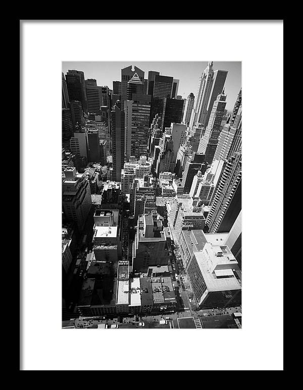 New York Framed Print featuring the photograph New York by Caroline Clark
