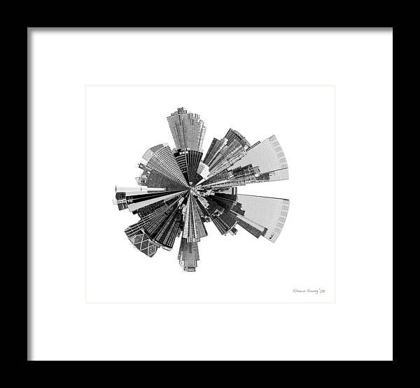 New York City Framed Print featuring the photograph New York City Lily by Shawn Young