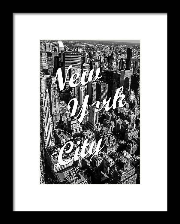 New York Framed Print featuring the photograph New York City by Nicklas Gustafsson